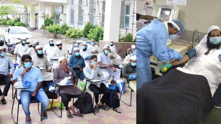കോവിഡ് ചികിത്സക്ക് പ്ലാസ്മ നൽകാൻ സന്നദ്ധരായി 200 തബ്ലീഗ് പ്രവർത്തകർ