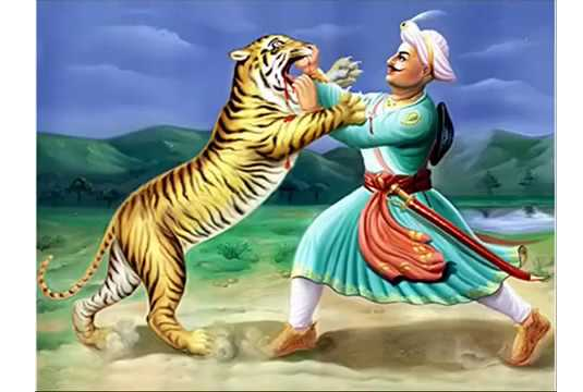 tipu-Fight-with-tiger.