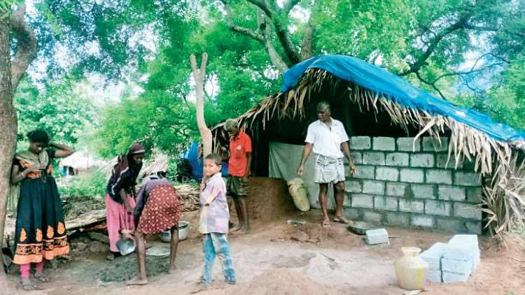 പുറേമ്പാക്കിലെ ആറ് ആദിവാസി കുടുംബങ്ങൾക്ക് വെളിച്ചമെത്തി