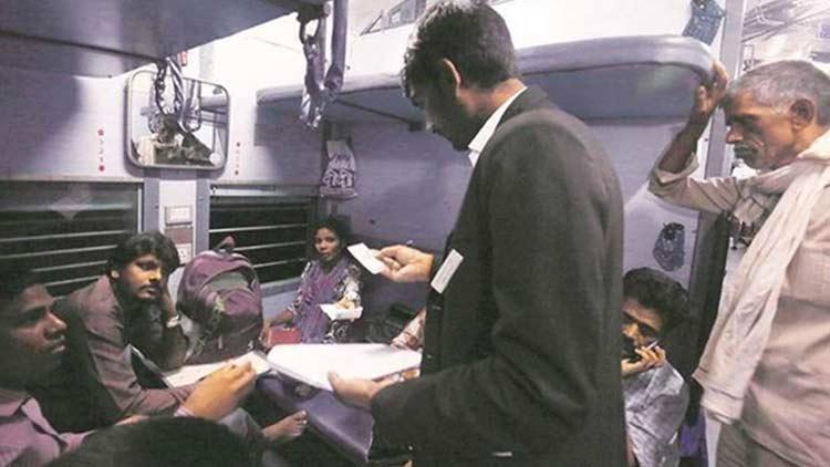 ടിക്കറ്റില്ലാ യാത്രക്കാരിൽ നിന്ന് മുംബൈയിലെ ടി.ടി.ഇ പിഴയീടാക്കിയത് ഒന്നരക്കോടി